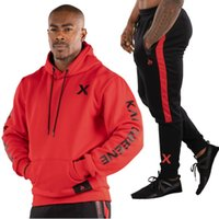 2018 Men Tracksuits Outwear Hoodies Zipper Sportwear Sets Ma...