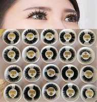 3D Mink Hair False Eyelashes Handmade Fake Mink Lashes Thick...