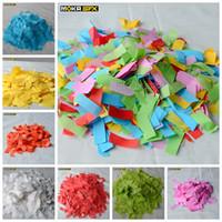 MOKA SFX 20bags / серия Красочные конфетти бумаги цветной бумаги конфетти машины для свадебного банкета таблицы Scatter украшения