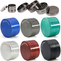4 Schichten Grinder Zink-Legierung Sharpstone 6 Farben Mini Tabakmühlen Gewürz Crusher für Glasbongs 40mm 50mm 55mm 63mm 5915S