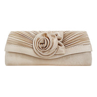 Dinner Bag Slik Rose Flower Clutch Envelope Evening Bag Chai...