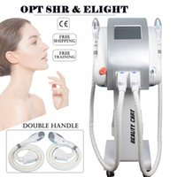 Meilleur élimination de l'acné ipl machine épilation 7 filtres Elight machine de suppression vasculaire 600000shots opt laser SHR envoi gratuit