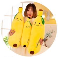 Nette 50cm Super Soft Banana Puppe-Plüsch-Spielzeug, unten Baumwolle gefüllt Obst Bolster Kissen, Ornament, Weihnachten Kid, Mädchen-Geburtstags-Geschenk, Dekoration 3-3