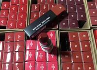 العلامة التجارية أحمر الشفاه غير لامع روج والشفاه الألومنيوم أنبوب لمعان الشفاه 29 الألوان مع سلسلة عدد الروسية الأحمر أعلى جودة وانخفاض الشحن