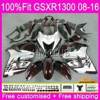 Einspritzung für SUZUKI Hayabusa GSXR1300 08 09 10 11 12 23HM.4 GSX-R1300 GSXR-1300 GSXR 1300 2008 2009 2010 2011 2012 Gute dunkelrote Verkleidung