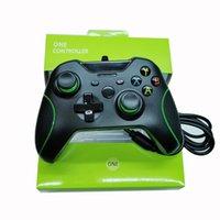 Controlador Nueva llegada del USB con cable Xbox One Joystick Gamepad para Xbox Uno de videojuegos Microsoft X-Box envío libre Regulador