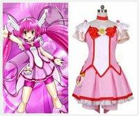 Sorriso PreCure! Cosplay Glitter Força Hoshizora Miyuki Cure feliz Vestido