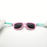 الجملة-- الاطفال النظارات الشمسية المستقطبة الطفل الطفل ralferty tr90 مرونة طلاء نظارات شمس uv400 النظارات ظلال الرضع oculos دي سول