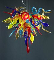 Italy Chihuly Colorful Hand Blown Glass Lights, Pendant Ligh...