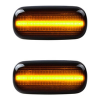 2pcs Compatible indicateur de clignotant de l'indicateur de latéral de LED par ordinateur avec Audi A4 S4 B6 RS4 B7 TT 8J Roadster A3 8P A6 S6 Allroad C5 A8 D3