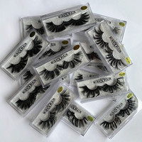 16styles False Eyelashes 5D Mink Eyelashes 25mm eyelash Natu...