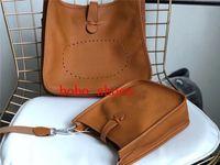 Rindsleder Designer-Handtaschen Frauen Designer-Luxus-Handtaschen-Lederhandtasche Schultertasche Frauen Tote Handtaschen Evelyn 14 Farben
