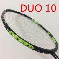 Duora 10 Raquete Badminton Raket Padel Raket Nano Carbono Raqueta Erkekler Tek Kişilik Badminton Raket Padel Boca Juniors