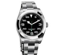 Top mestre feito com cuidado céu overlord série 116900 relógios dos homens de aço inoxidável mecânica GMT 40mm relógios automáticos de luxo