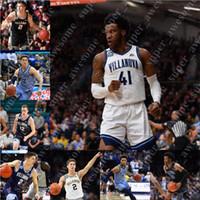 맞춤형 Villanova Wildcats 농구 유니폼 Saddiq Bey Collin Gillespie Justin Moore Jermaine Samuels Jeremiah Robinson-Earl Cole Swider