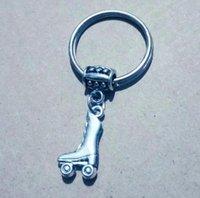 롤러 스케이트 키 체인 롤러 스케이트 신발 공예 또는 장식 783 매달려 가방 홀더 자동차 키 체인 열쇠 고리를 들어 열쇠 고리