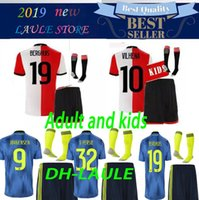 Adult and kids 19 20 Feyenoord soccer jersey 2019 2020 11 LA...