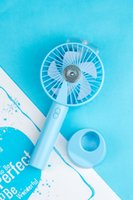 Portable Water Spray Mist Fan Electric USB Rechargeable Hand...