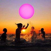 Accessori per piscine Impermeabile Led Blowwing Ball Ball Esterni Festa di nozze Prato Telecomando Decorativo Flashing Beach Giocattolo