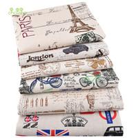 Chainho، نيو مطبوعة القطن نسيج الكتان لDIY خياطة اللحف الخياطة أريكة، طاولات طعام، ستائر، حقيبة، وسادة المواد، نصف متر