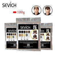 Sevich 100g Haarverlies Product Haar Bouwvezels Keratin Bald To Thicken Extension in 30 Tweede Concealer Powder voor Unsex