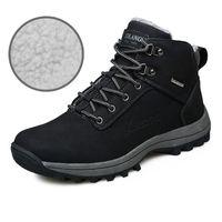 Snow Boots Large Size Outdoor neve stivali caldi e scarpe di velluto di cotone Mens Sneakers antiscivolo ooerg