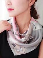 girls womens SQUARE 100% Real Mulberry SILK SCARF Silk Satin...