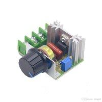 AC 220V 2000W SCR Voltaj Regülatörü Karartma Dimmerler Motor Hız Kontrol Termostat Elektronik Voltaj Regülatörü Modülü