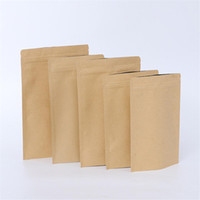 Kraft Paper Bags Aluminum Foil Case Zip Lock Self Sealing Retail Smell Proof Mylar Stand Up Pouch For Runtz Dry Herb Cookies Food Packaging