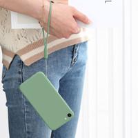 Ricos en color de silicona teléfono cuerda de la correa del deporte cuerdas de seguridad para iPhone Samsung Moda de goma Llaveros encantos del teléfono celular del envío gratis