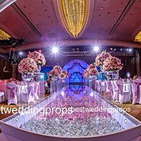 مرحلة جديدة نمط الاكريليك الكريستال لمرحلة الزفاف جولة mandap الديكور قوس الكريستال الزفاف لحفلات الزفاف ، حزب ، الحدث best508