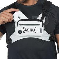 야외 스포츠 남자 가슴 가방 다기능 방수 전술 포켓 streetwear 휴대 전화 가방 작은 전술 배낭