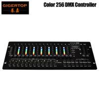 Хорошее качество Этап Светлый цвет 256 Консольный 30 Банки 8 программируемых сцен 16 Slider ЖК-дисплей DC9V мощность 3PIN Светодиодная лампа
