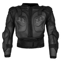 Uomo Motocross Racing Jacket Body Protection Spine Chest Protective Uomo