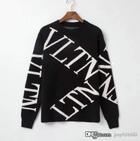 Mens designer sweaters fashion Pullover long sleeve letter p...