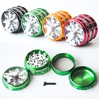 Hot Selling 4 layers Aluminum Alloy Herb Grinders 60MM*47MM ...