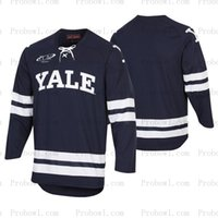 Yale Bulldogs Detroit hockey rouge Arizona State Sun Devils Maine Maine Bears M. Plowhio State Buckeyes Jersey pour hommes