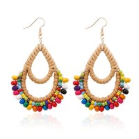 2019 Original Creative Jewelry Seed Beads Dangle Earrings Bo...