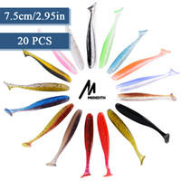 Meredith 20pcs lot Easy Shiner Fishing Lures 75mm Wobblers C...