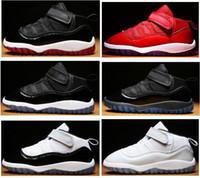 Baby 11s Gym Red Bred Concord Infant Basketball Shoes 11 Spa...