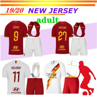2019 20 as roma SOCCER Jerseys adult KIT TOTTI DE ROSSI home...