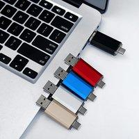 USB 3.0 Type-C metal usb flash drive pendrive 16GB 32GB 64GB 128GB key usb stick pen drive flash