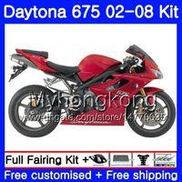 Cuerpo para triunfo Daytona 675 02 03 04 05 06 07 08 Daytona675 322HM.2 Fábrica rojo CALIENTE Daytona 675 2002 2003 2004 2005 2007 2007 2008 Carenado