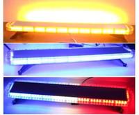 Spedizione gratuita 1200mm / 47 pollici alta brillante veicolo di emergenza veicolo di avvertimento lightbar auto flash strobe lightbar ambra lightbar per il rimorchio camion light bar