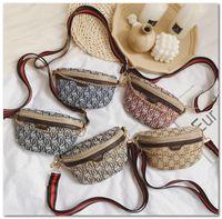 enfants Sac de taille luxe sac princesse imprimé mode lettre enfants filles monoruban sac à bandoulière sacs à main mini chaîne de marque C5841