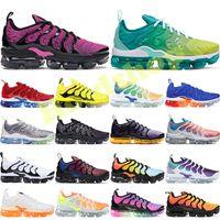 Plus TN Bumblebee Artı Tn Koşu Ayakkabıları Erkek Gökkuşağı Limon Kireç ABD Kurt Gri Gerçek Üzüm Olabilir Üçlü Siyah Beyaz Bayan Tasarımcı Ayakkabı Sneakers 36-45
