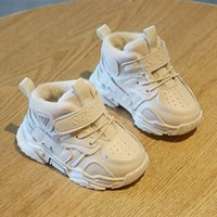 2020 Nueva llegada de los zapatos de algodón de los niños de 0-2 años de edad, zapatos para niños pequeños para bebés antideslizantes blando inferior bebé