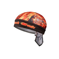 4 cores Cycling Cap Sweatproof Sunscreen Headwear Bike Team lenço Coif bicicleta Bandana pirata Headband Riding Hood chapéu Sports pano de cabeça