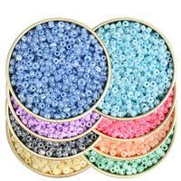 10000 stücke 2mm Creme Farbe Samen Cezch Glasperlen Zubehör für Schmuck DIY Machen Runde Charme Spacer Lose Perlen Armband Halskette Anhänger