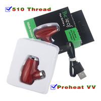 510 Fil à puce 900 mAh vape universel stylo batteries rechargeables et un chargeur micro USB kit passthough tuyau d'e mod ky32 ajuster le préchauffage de tension